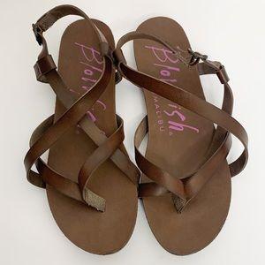 🦩2/$25 Blowfish Malibu / Granola B Strappy Sandals